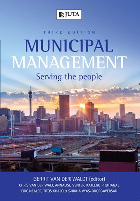 Picture of Municipal management : Serving the people
