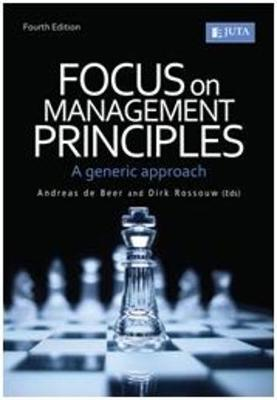 Picture of Focus on management principles