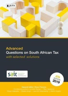 Picture of Advanced questions on South African Tax with selected solutions