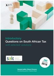 Picture of Introductory questions on South African tax with selected solutions