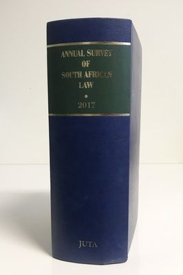 Picture of Annual Survey of South African Law 2017