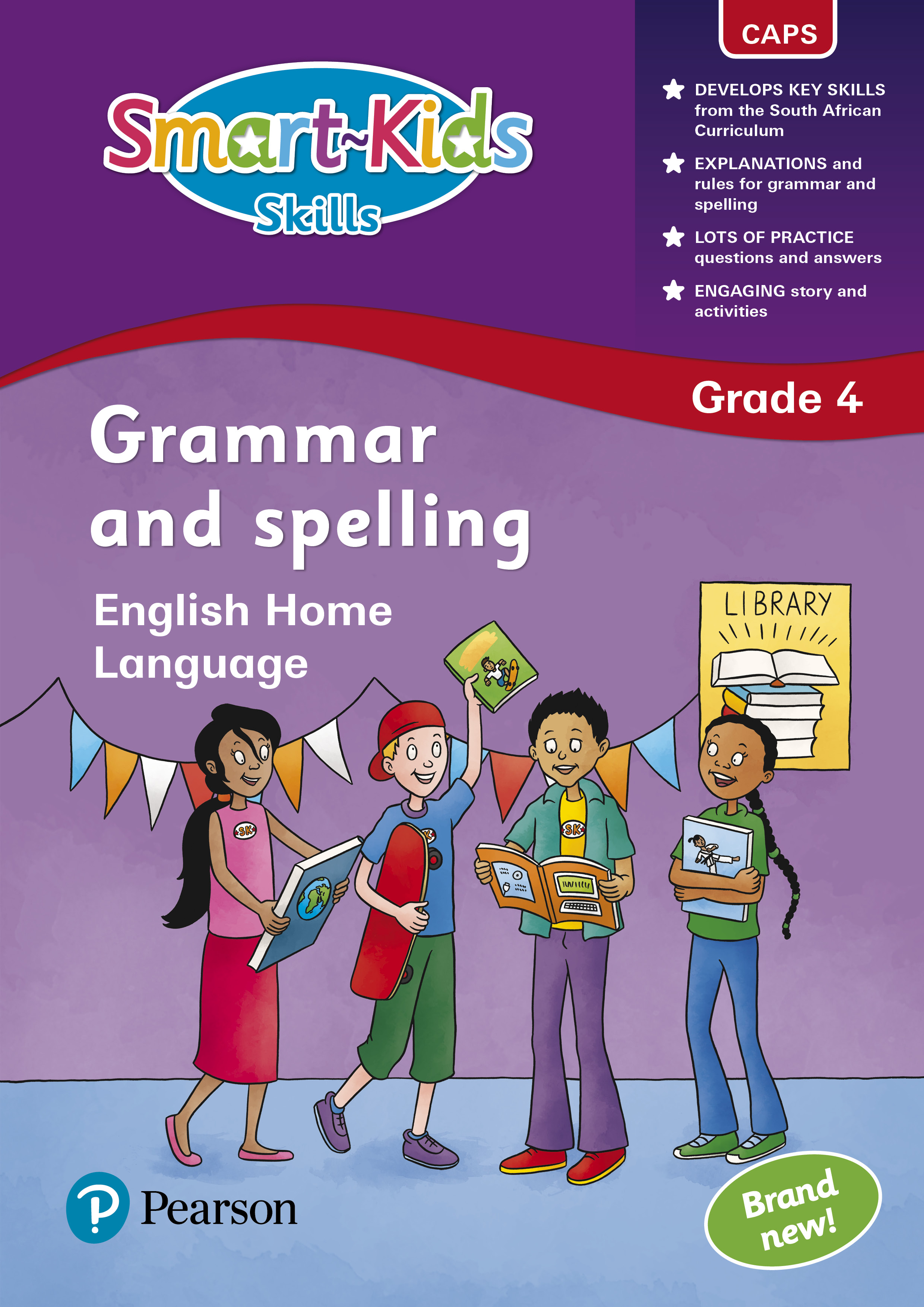 Picture of Smart-Kids skills grammar and spelling: Grade 4