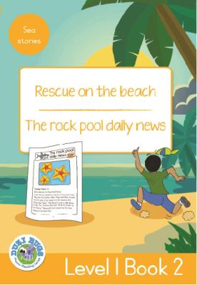 Picture of Rescue on the Beach - The Rock Pool Daily News : Level 1, Book 2 : Grade 3: Yellow Level Reader