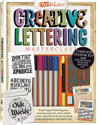 Picture of Art Maker Creative Lettering Masterclass Kit (portrait)