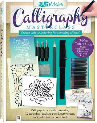 Picture of Art Maker Calligraphy Masterclass Kit (portrait)