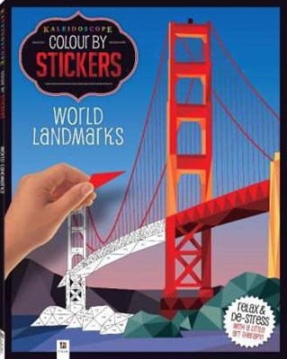 Picture of Kaleidoscope mosaic stickers : World landmarks