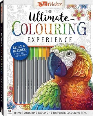 Picture of Art maker ultimate coloring kit