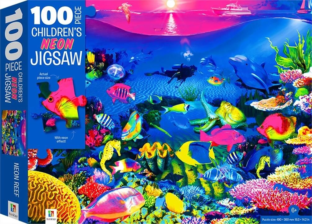 Picture of 100-Piece Children's Jigsaw with Treatments: Reef