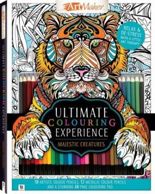 Picture of Ultimate Colouring Experience: Majestic Creatures Kit