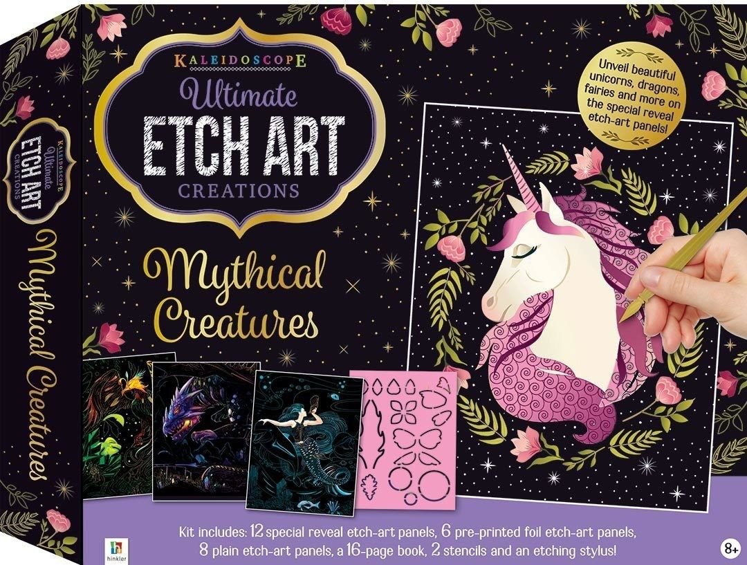 Picture of Ultimate Etch Art Kit: Mythical Creatures