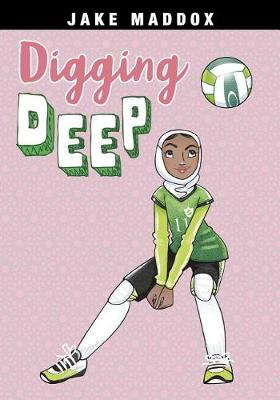 Picture of Jake Maddox Girl Sports Stories: Digging Deep