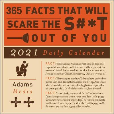 Picture of 365 Facts That Will Scare the S#*t Out of You 2021 Daily Calendar