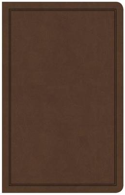Picture of CSB Deluxe Gift Bible, Brown LeatherTouch