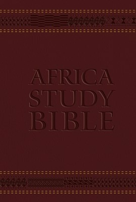 Picture of Africa study Bible