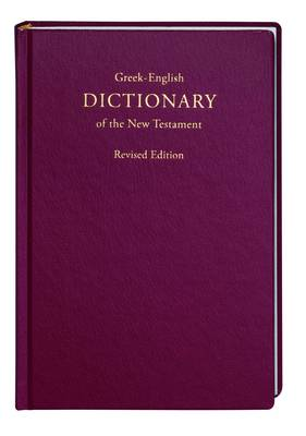 Picture of A Concise Greek-English Dictionary of the New Testament