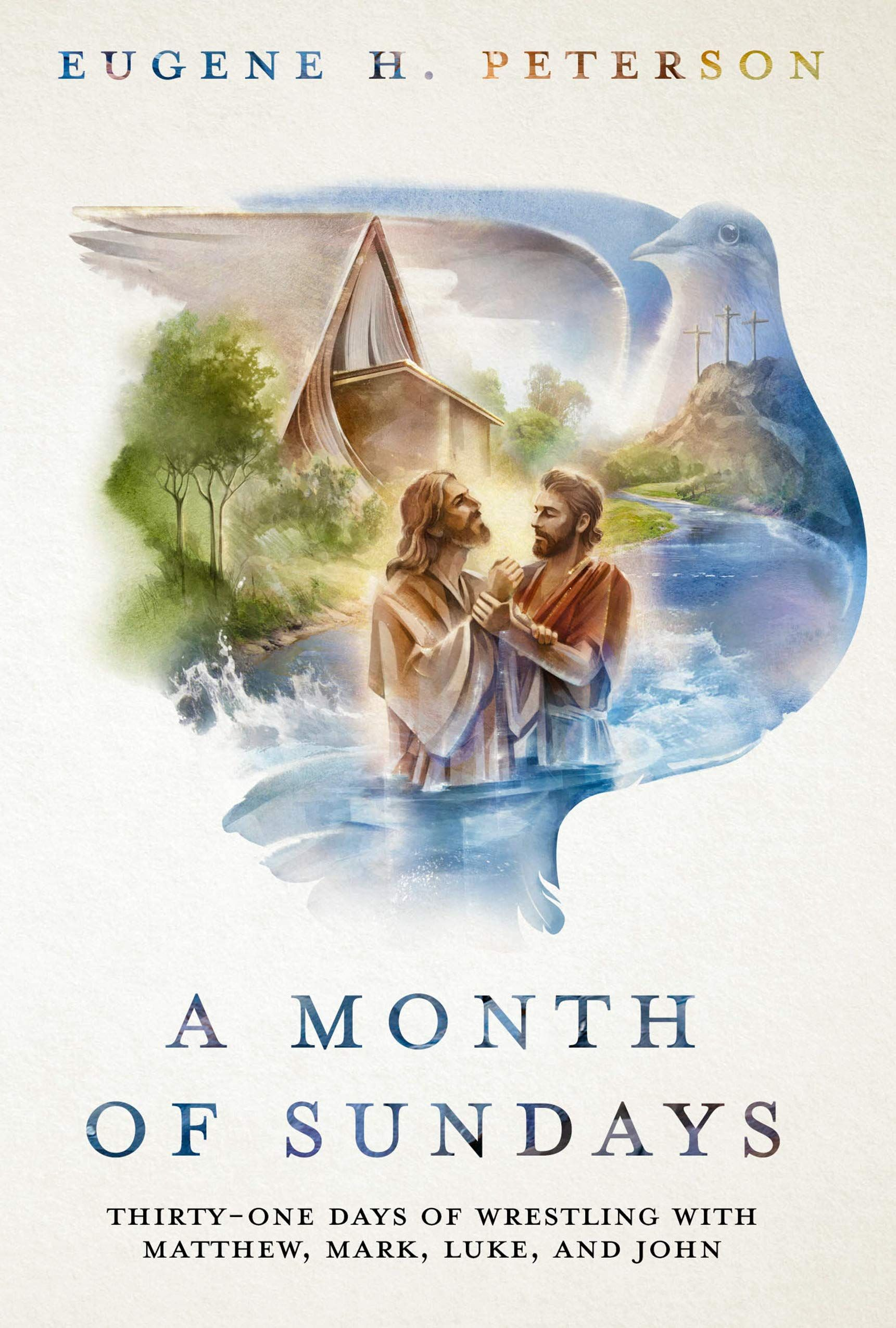 Picture of A Month of Sundays : Thirty-One Days of Wrestling with Matthew, Mark, Luke, and John