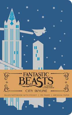 Picture of Fantastic Beasts and Where to Find Them: City Skyline Hardcover Ruled Notebook