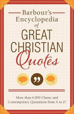 Picture of Barbour's Encyclopedia of Great Christian Quotes