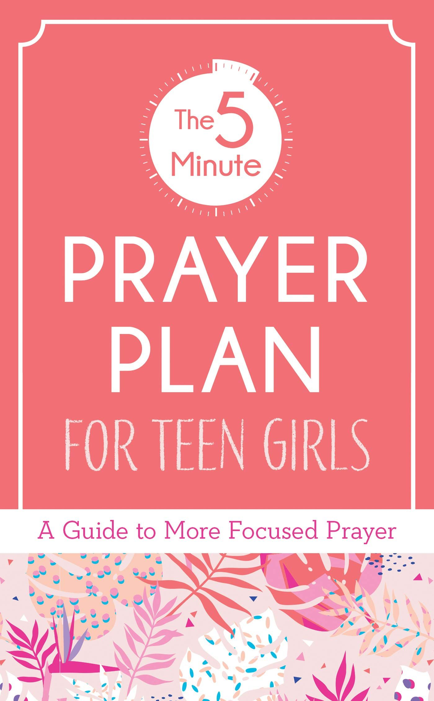 Picture of 5-Minute Prayer Plan for Teen Girls