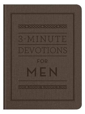 Picture of 3-Minute Devotions for Men