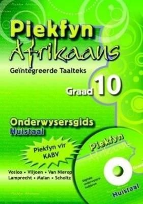 Picture of Piekfyn Afrikaans - 'n geintegreerde taalteks: Gr 10: Onderwysersgids : Huistaal