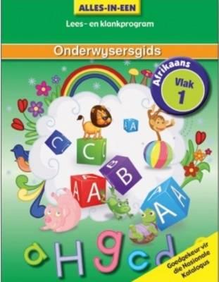 Picture of Alles-in-een klankeboek : Vlak 1 : Onderwysersgids : Huistaal