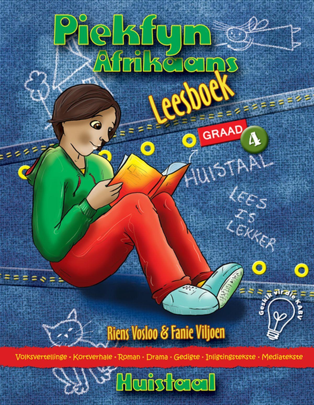 Piekfyn Afrikaans huistaal (KABV): Gr 4: Leesboek