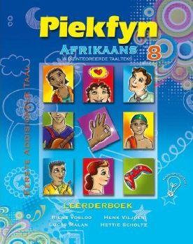 Picture of Piekfyn Afrikaans eerste addisionele taal (KABV): Gr 8: Leerdersboek : 'n Geintegreerde taalteks