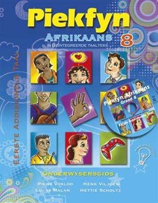 Picture of Piekfyn Afrikaans eerste addisionele taal (KABV): Gr 8: Onderwysersgids & CD : 'n Geintegreerde taalteks