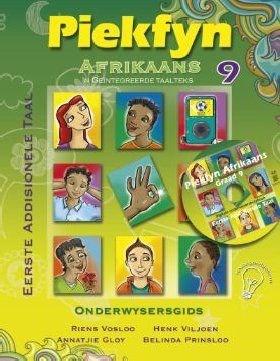 Picture of Piekfyn Afrikaans eerste addisionele taal (KABV): Gr 9: Onderwysersgids & CD : 'n Geintegreerde taalteks