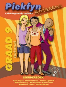Picture of Piekfyn Afrikaans huistaal (KABV): Gr 9: Leerdersboek : 'n Geintegreerde taalteks