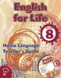 Picture of English for life home language (CAPS): Gr 8: Teacher's guide & CD : An integrated language text