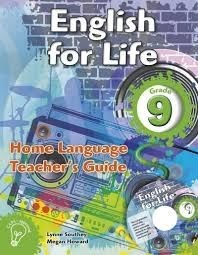 Picture of English for life home language (CAPS): Gr 9: Teacher's guide & CD : An integrated language text