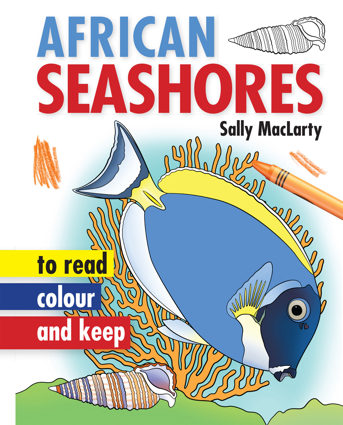 Picture of African seashores : To read, colour and keep