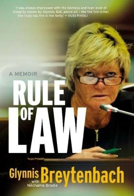 Picture of Rule of law : A memoir