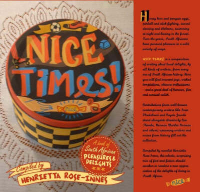 Picture of Nice Times! : A Book of South African Pleasures and Delights