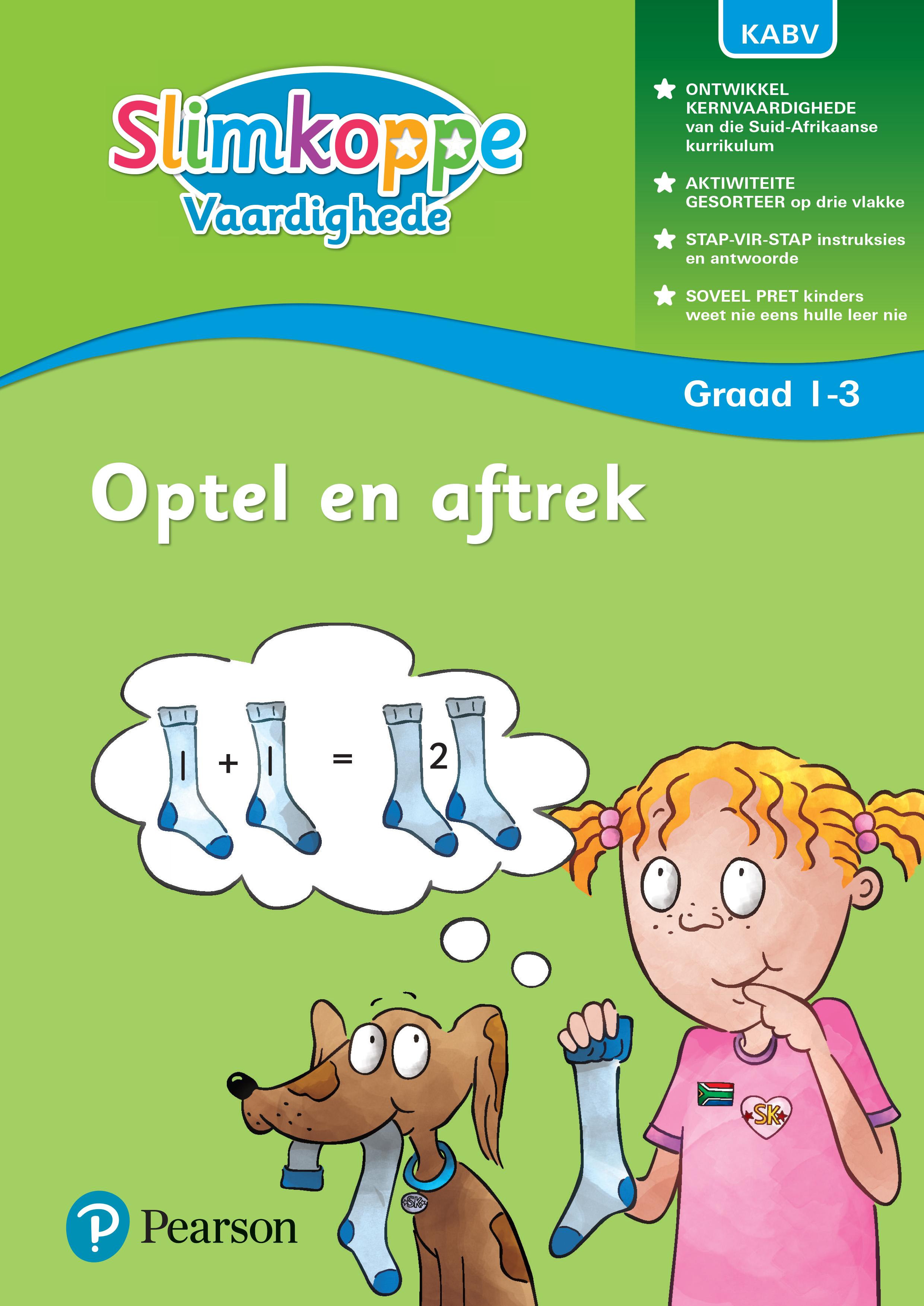 Picture of Slimkoppe Vaardighede: Optel en aftrek: Graad 1, Graad 2, Graad 3