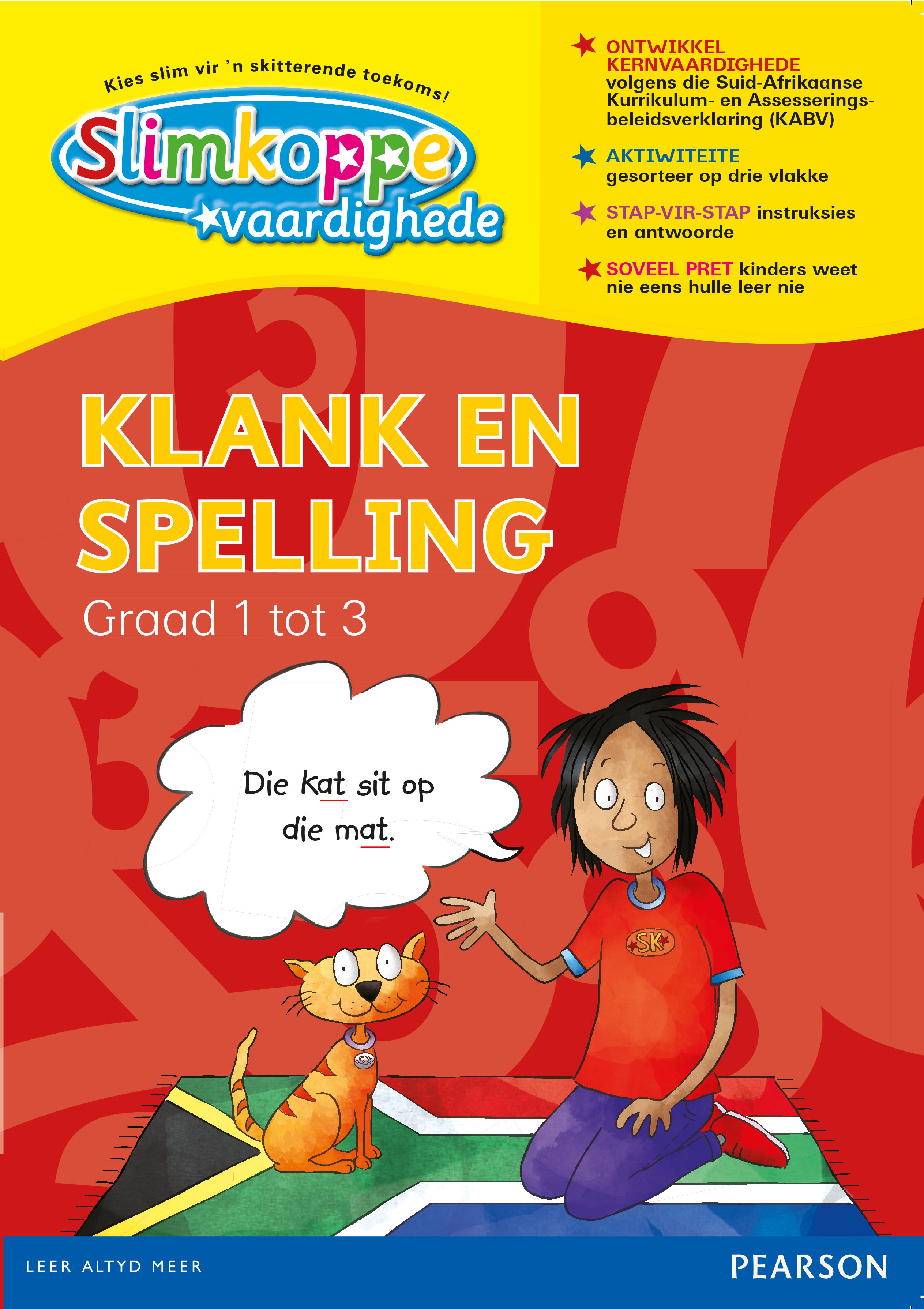 Picture of Slimkoppe Vaardighede: Klank en spelling: Grade 1, Grade 2, Grade 3