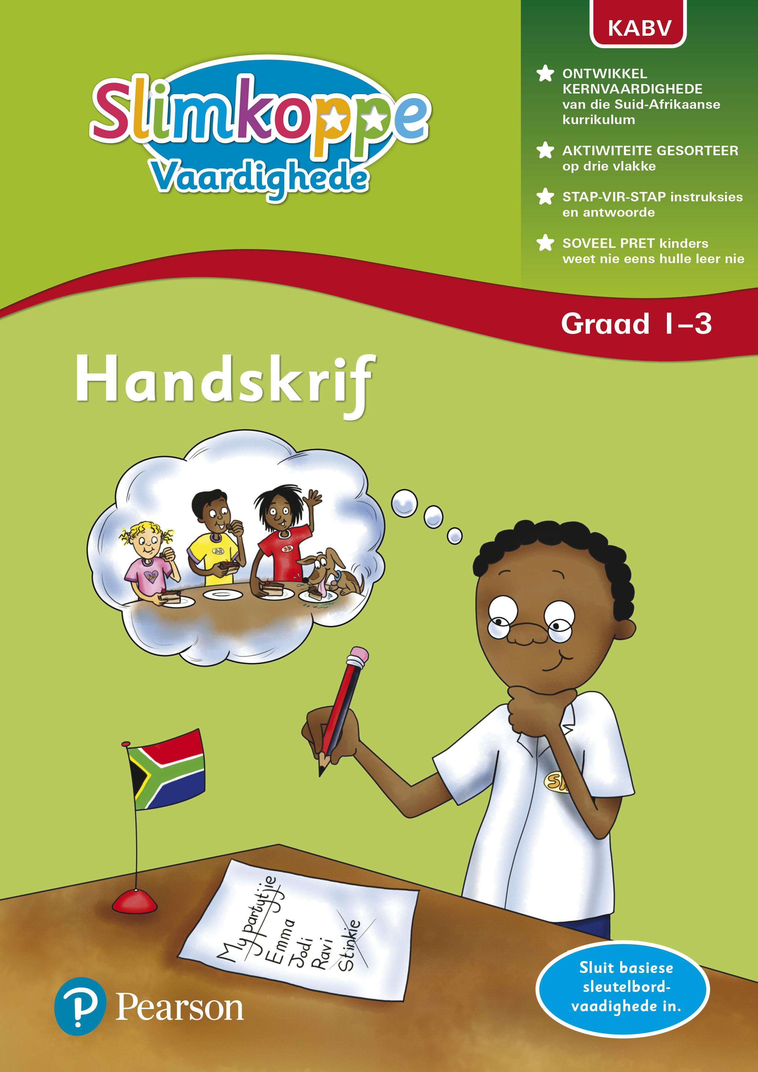 Picture of Slimkoppe Vaardighede: Handskrif: Grade 1, Grade 2, Grade 3