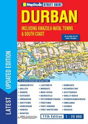 Durban & KZN street guide : Including KwaZulu-Natal towns & South Coast towns