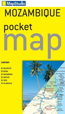 Mozambique Pocket Map 2013