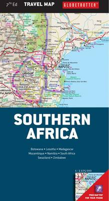 Picture of Globetrotter travel map Southern Africa