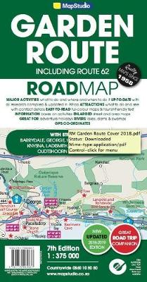 Picture of Road map Garden Route and Route 62