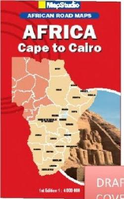 Picture of African road maps: Africa Cape to Cairo
