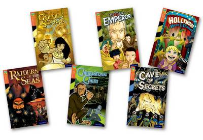 Oxford Reading Tree TreeTops Graphic Novels: Level 13: Pack of 6