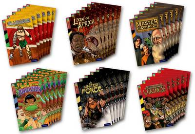 Oxford Reading Tree TreeTops Graphic Novels: Level 15: Pack of 36