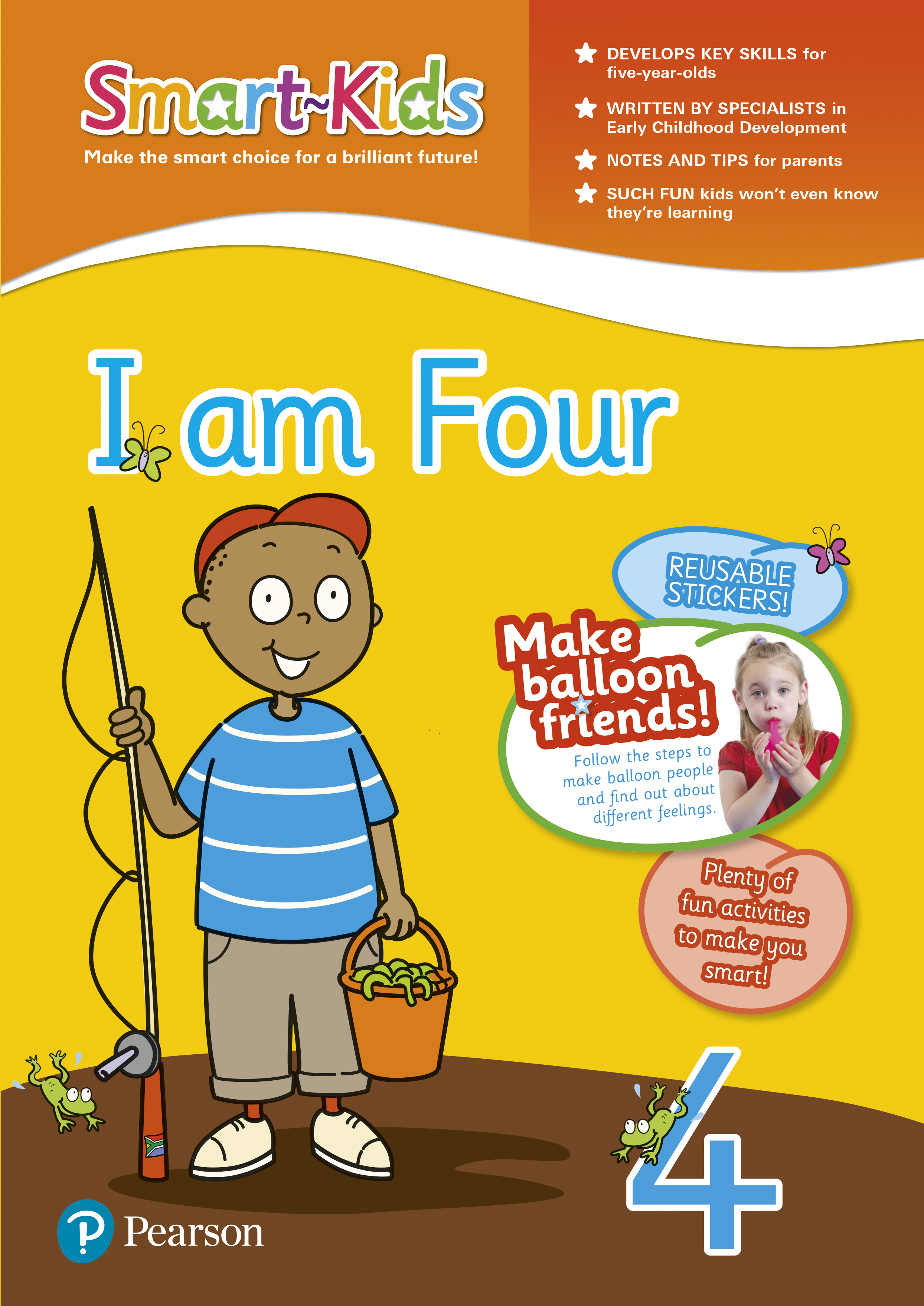 Picture of Smart-Kids: I am four: Preschool