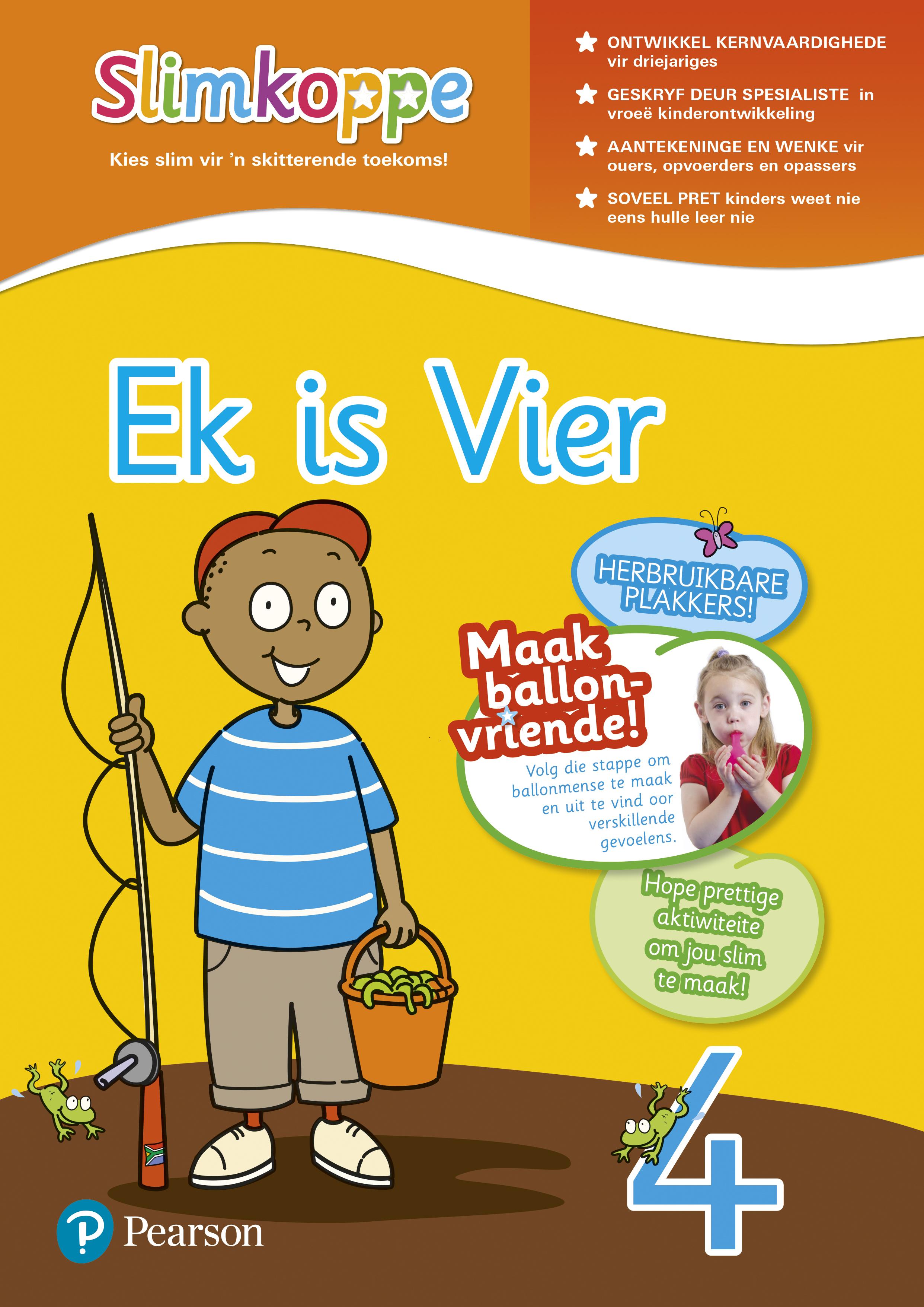 Picture of Slimkoppe Vaardighede: Ek is vier: Preschool