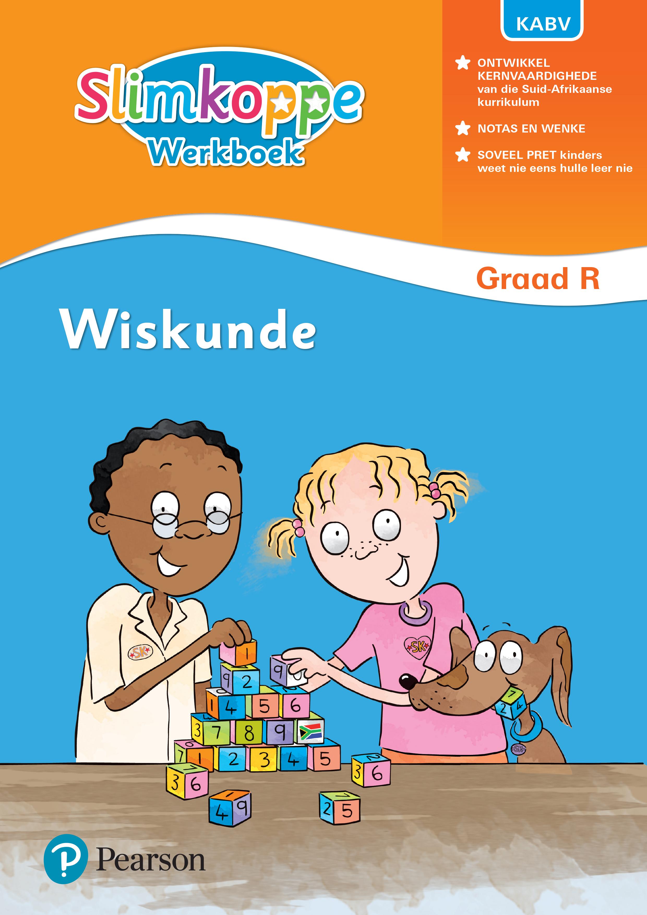Picture of Slimkoppe Wiskunde: Graad R: Werkboek