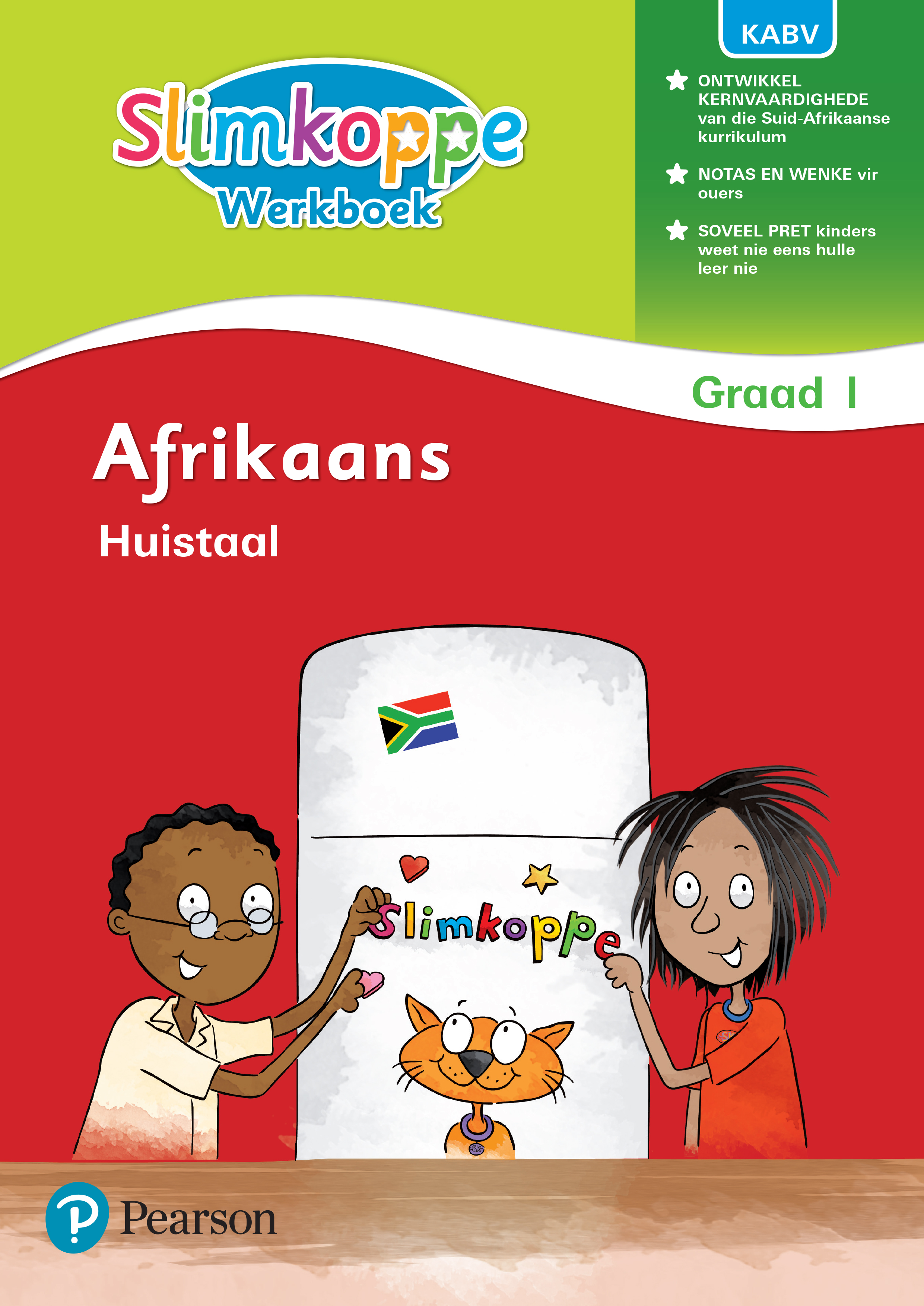 Picture of Slimkoppe Afrikaans Huistaal: Grade 1